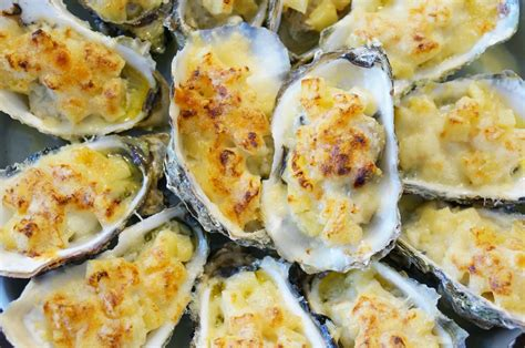 spécialité lyonnaise cuisine huîtres chaudes gratinées au fromage cuisine ma cuisine tout court