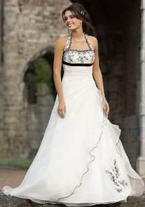 Schwarz Weiß Hochzeitskleid : brautkleider schwarz weiss ~ Frokenaadalensverden.com Haus und Dekorationen