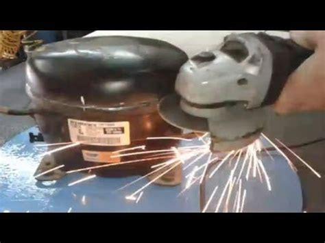 reparaci 211 n de un compresor de nevera 1 3 hp heladera reparaci 243 n de un motor de