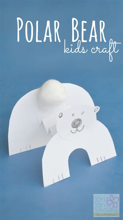 polar bear crafts for preschoolers polar craft to celebrate international polar 204