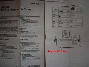 Honeywell Smart Valve Fan Timer Control Board St9120g4038