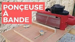 Ponceuse A Bande : faire une ponceuse a bande sur table youtube ~ Premium-room.com Idées de Décoration