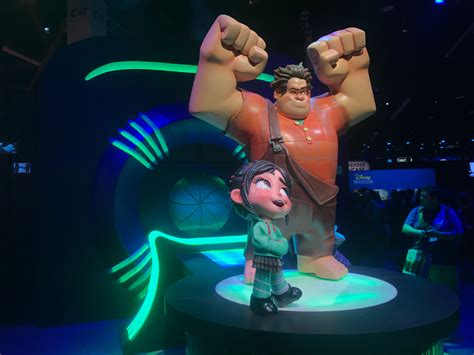 wreck  ralph  footage revealed