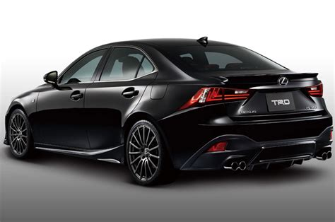 Japaneses Spec 2014 Lexus Is F Sport Trd Left Rear View