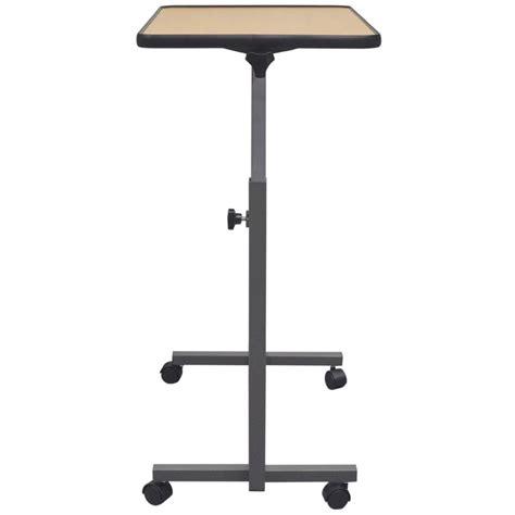 bureau ordinateur portable la boutique en ligne vidaxl bureau mobile pour ordinateur