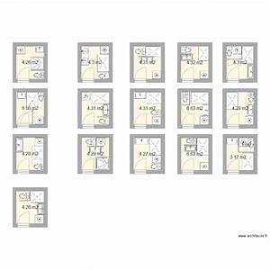 mobilier table plan salle de bain 3m2 With plan pour salle de bain