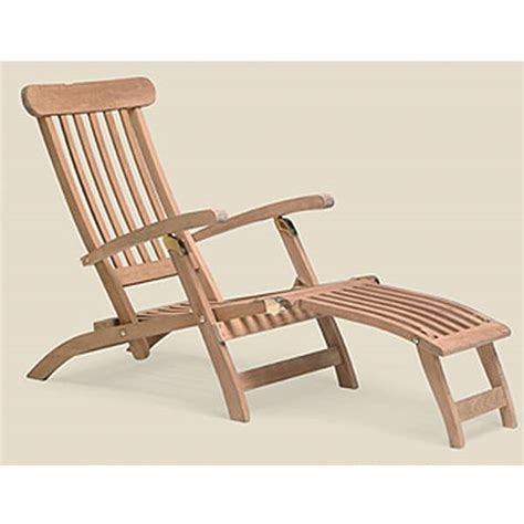 shipping teak outdoor chaise lounges