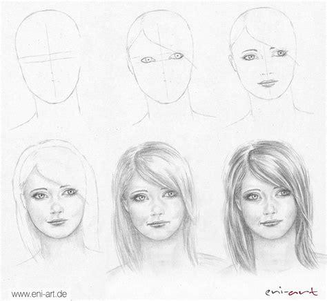 Gesichter Zeichnen Und Malen  Zeichnen Lernen