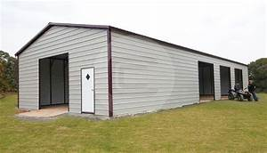30x70 commercial garage building clear span garage for sale With 30 x 70 metal building