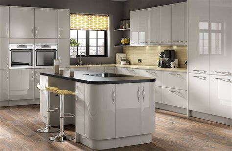 high gloss gray kitchen cabinets grey gloss kitchen ideas home of ideas