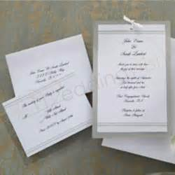 wedding invitation kit wedding wilton simply wedding invitation kits x 25 wedding wish