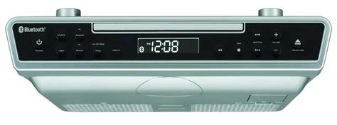 kitchen radio cabinet best buy sylvania skcr2713 counter cd player with radio and 9531