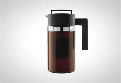 The takeya cold brew maker ($18.99+ on amazon). Make Cold Brew Coffee At Home With The Takeya Cold Brew Coffee Maker
