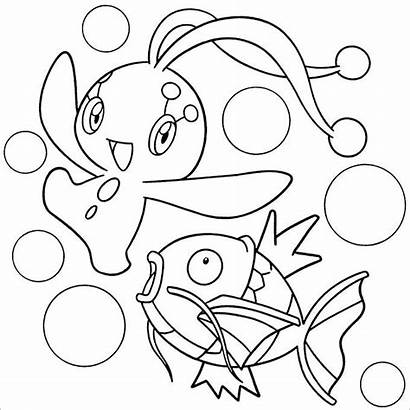 Pokemon Coloring Pages Pearl Diamond Colouring Template