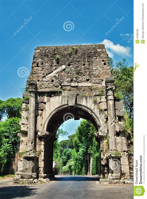 porte antique de ville de rome photos stock image 19180793