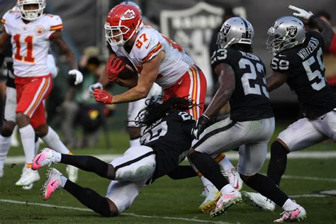 chiefs  raiders betting odds injury report  afc
