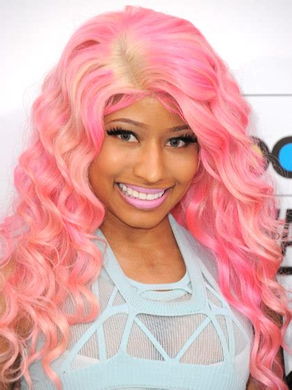 nicki minaj pink wigs hairturners