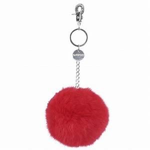Porte Clef Fourrure : 62161 pompon porte clefs fourrure rouge oakwood the leather brand ~ Teatrodelosmanantiales.com Idées de Décoration