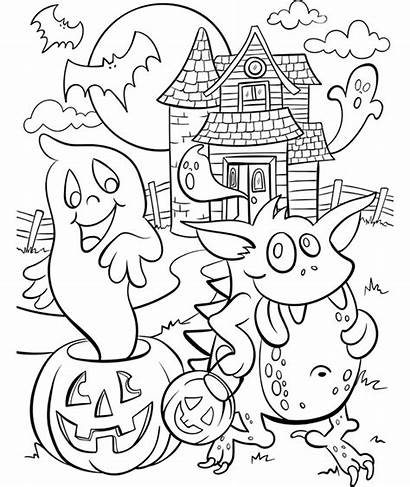 Coloring Haunted Pages Halloween Crayola Colouring Sheets