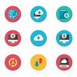 Icon Icons Dowload Downlad Vector Cloud Arrow