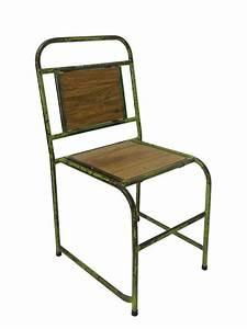 Stühle Retro Design : dekorativer stuhl vintage im retro design metall sitzm bel st hle ~ Indierocktalk.com Haus und Dekorationen