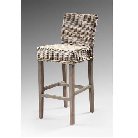 chaise haute en rotin chaise rotin pas cher
