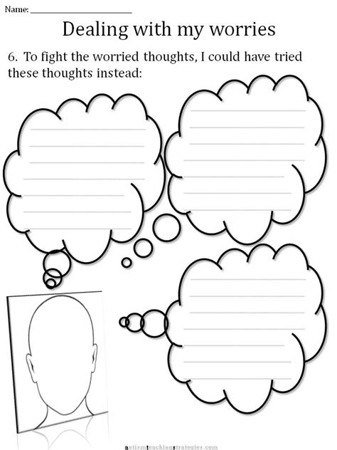 cbt children s emotion worksheet series 7 worksheets for dealing with anxiety - Anxiety Worksheets