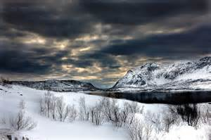 Norway Fjord Winter