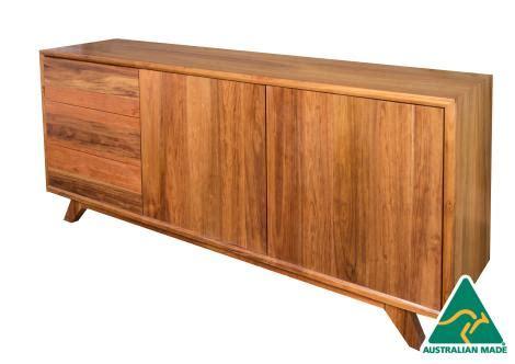 kitchen cabinets walnut melbourne australian made blackwood timber retro buffet 3293