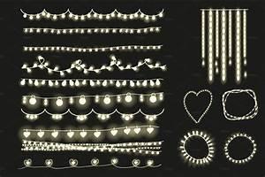 Fairy, Lights, Clipart, String, Lights
