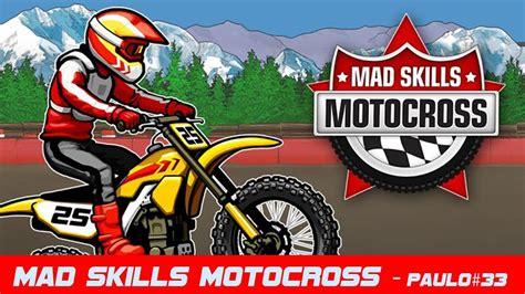 mad for motocross mad skills motocross jogo de motocross 2d épico youtube
