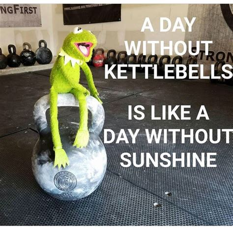 kettlebell sunny funny quotes kettlebells workout always fitness motivation kings its humor training hiit workouts