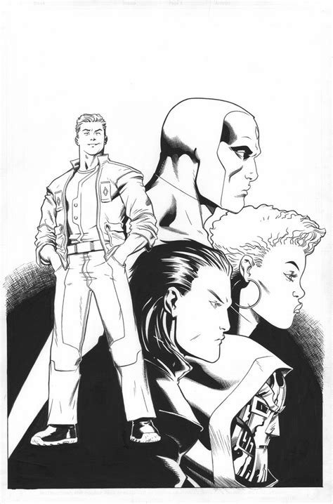 Avengers: AI # 2 – More Great Art