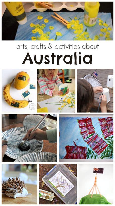 australia activities for danya banya 818 | arts crafts activities about Australia