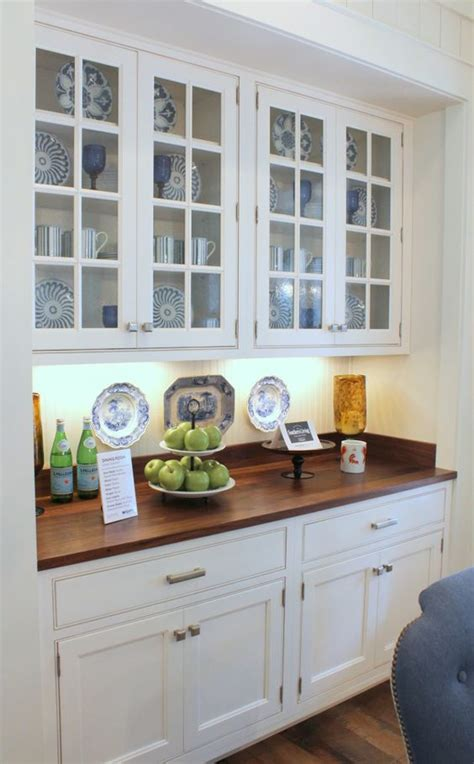 built in kitchen cabinets southern living idea house breakfast area built in cabinet