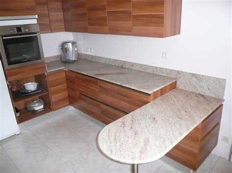 cuisine en granit granit plan de travail cuisine les finitions du granit