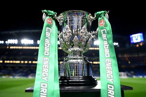 Carabao Cup Semi Final Draw / Arsenal 1-4 Man City: 5 ...