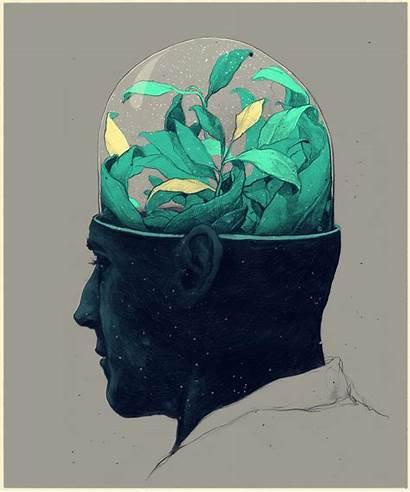 Prades Simon Surreal Illustrations Mind Illustrator Graphic
