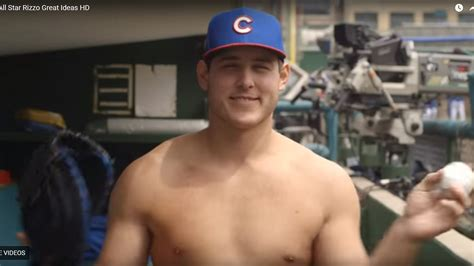 shirtless anthony rizzo helps  handmaids tale