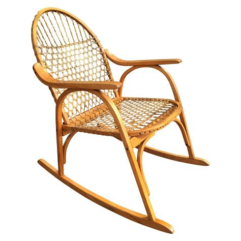 vermont tubbs adirondack rocking chair for sale at 1stdibs