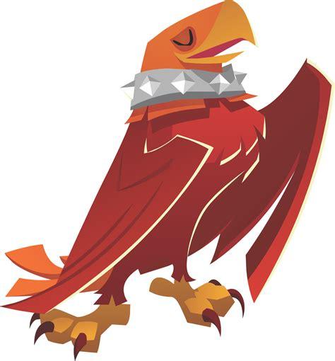 image eagle wearing spikepng animal jam wiki fandom
