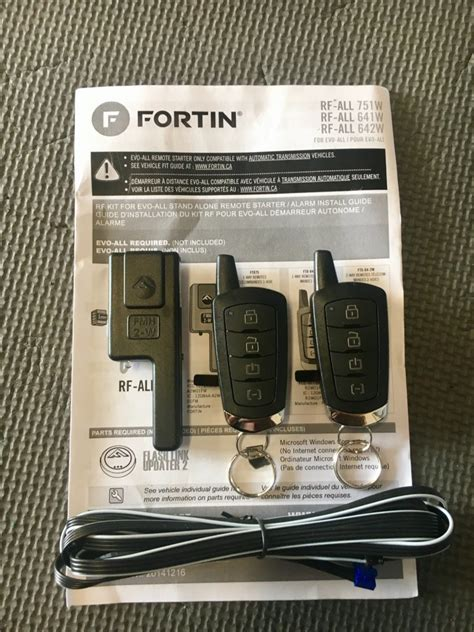 Fortin Evo One Remote Start Toyota Tundra Forum