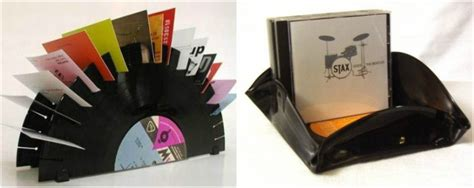 recycling vinyl records  clever household ideas