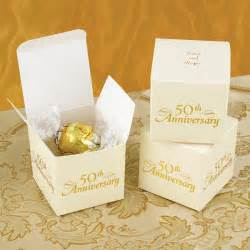 personalized 50th anniversary favor boxes set of 25 - 50th Wedding Anniversary Favors