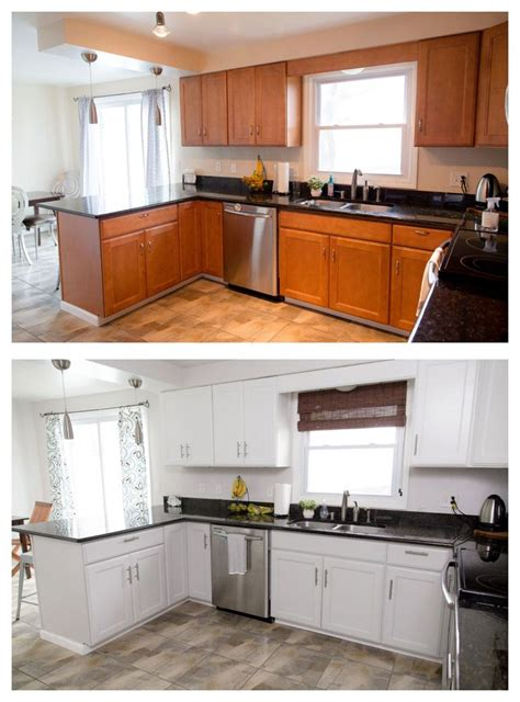 kitchen cabinet makeovers painted kitchen cabinet makeover 2605