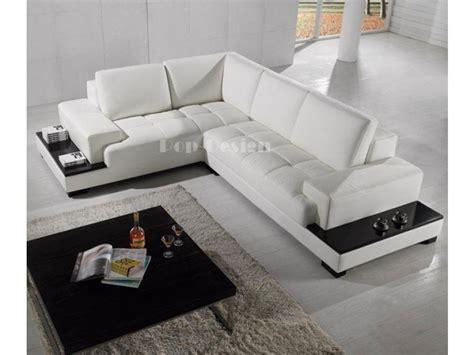 canap d angle avec rangement canapé d 39 angle design en cuir loretto avec casiers de