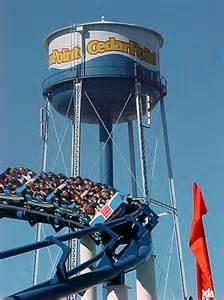 Cedar Point Corkscrew Roller Coaster