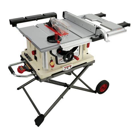 table saw with stand jet jbts 10mjs review table saw central