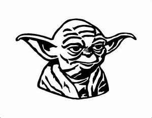 Yoda Star Wars Vector Model - svg cdr ai pdf eps files ...