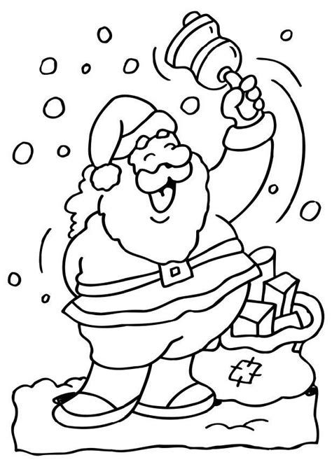 Kleurplaat Kerstman Gezicht by Popular Images Kerstman